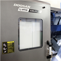 Doosan Turning Centre with Mill function
